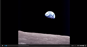 he film shows how we can look through the eyes of astronauts for the inspiration to unite on Earth.